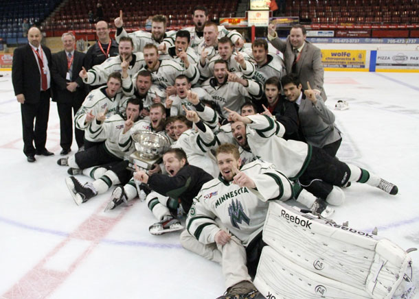 SIJHL Minnesota Wilderness Win 2013 Dudley Hewitt Cup