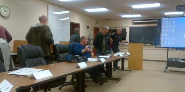 Emergency Meeting at Fire Hall this afternoon