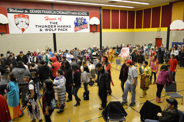 Pow wow drums and dancers celebrate Aboriginal Culture