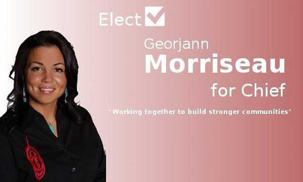 Georjann Morriseau – Nominated in Fort William First Nation