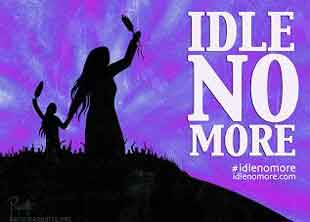 Idle No More – I hear many people talk about Treaty, far too many of us do