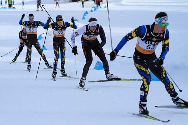 Lakehead University Nordic skiers shred snow!