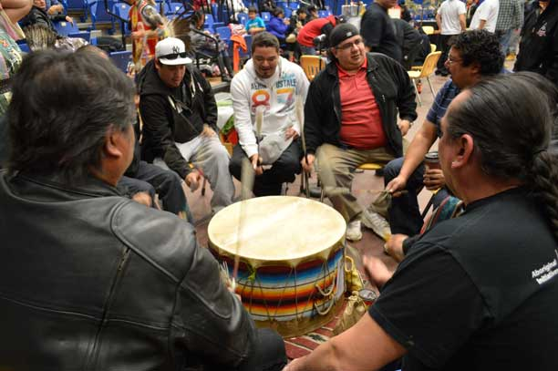 LUNSA Pow Wow drumming into the future