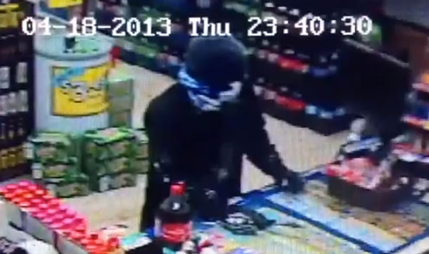 Mac's Robbery Suspect Video