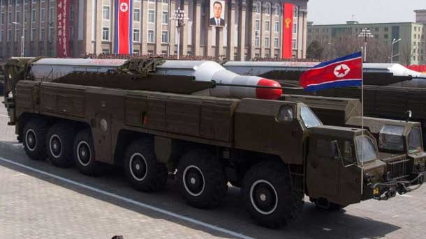 North Korea Fires 5th Missile
