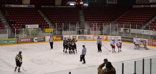 SIJHL Playoff Game Two on hold