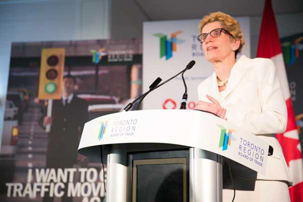 Where investing in transit can take us – Premier Wynne