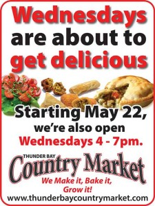 Thunder Bay Country Market Wednesdays @ Thunder Bay Country Market