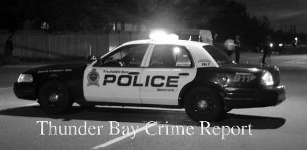 Thunder Bay Crime Report April 8 2013