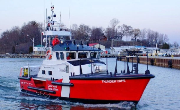 Thunder Cape, Canadian Coast Guard