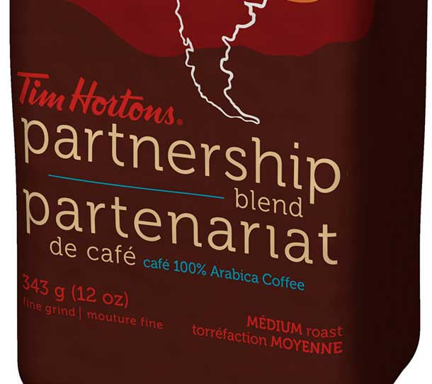 Tim Hortons offers new coffee