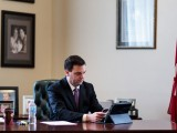Tim Hudak on Conference call to discuss the budget