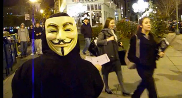 Anonymous seeks Internet Blackout