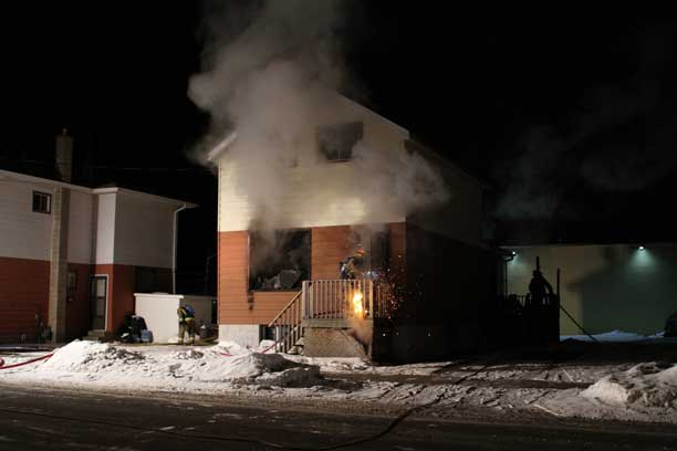 Macher Avenue Fire ruled Arson