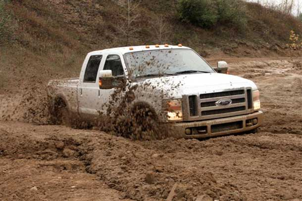 Mudding can be fun