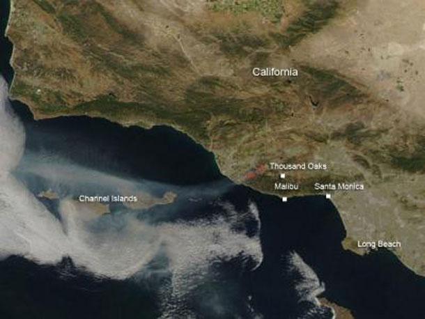NASA - California Fires