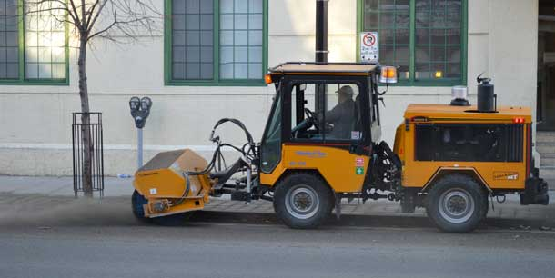 Street Sweeping in Full Swing
