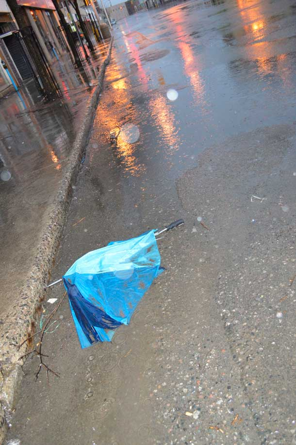 Thunder Bay Wet Streets