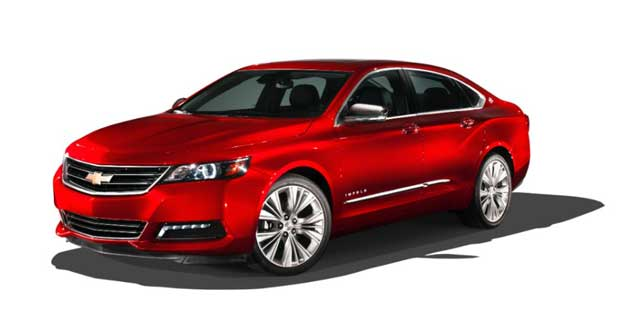2014 Impala – Chevrolet's flagship sedan will go on sale this spring