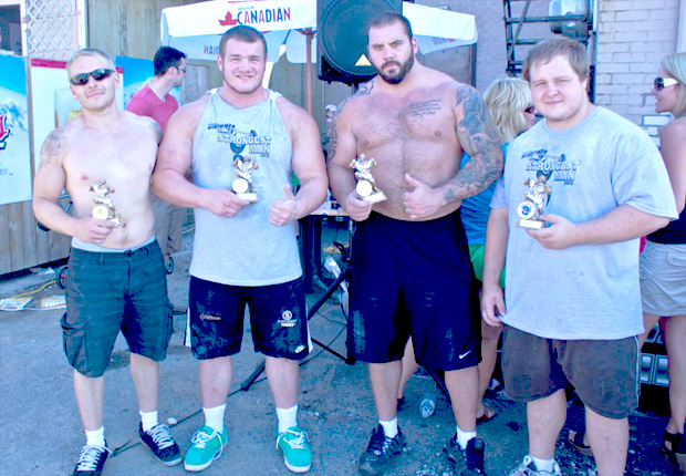 Luke Skaarup – Ontario's Strongest Man is also Thunder Bay's Strongest Man