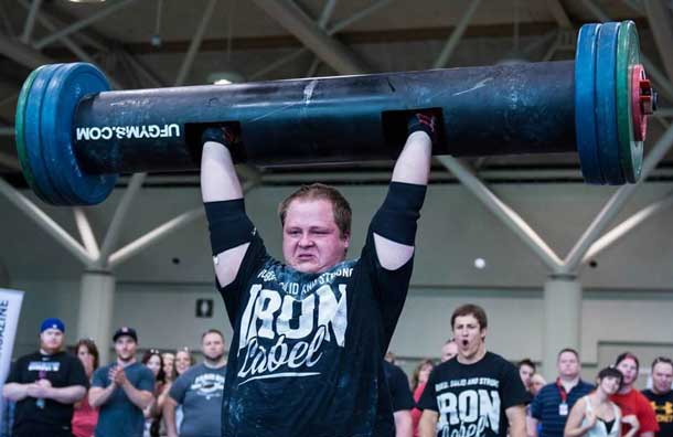 Ben Thompson Wins 2013 Iron Label Strongman