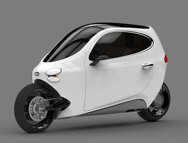 Lit Motors is creating a new safe and stylish looking mode of transportation