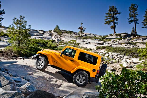 Jeep Wrangler – Lots of Fun and great resale value too