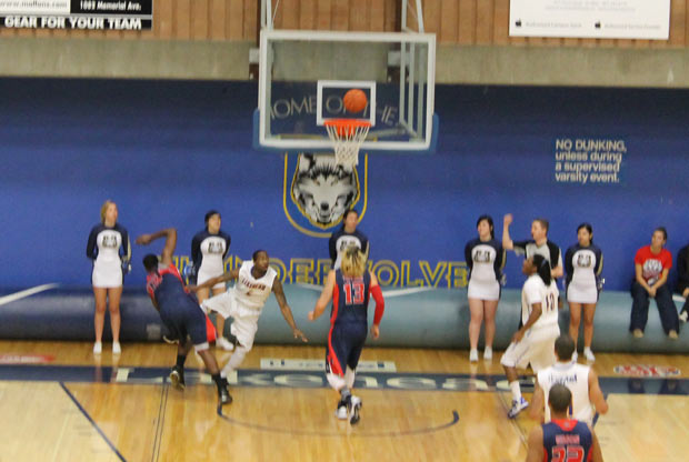 Thunderwolves Mens B-Ball Win!