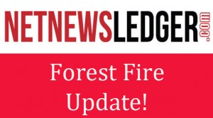 Forest fire situation in Northwestern Ontario – Calmer