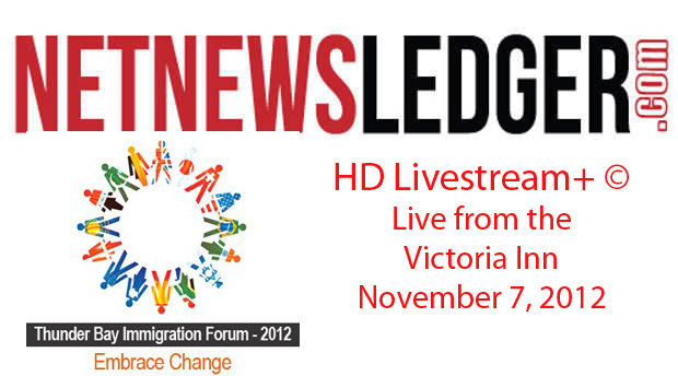 Thunder Bay Multicultural Association Hosts Immigration Forum 2012 – HD Livestream+© Broadcast