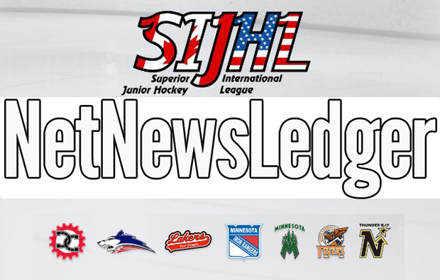 SIJHL Pizza Hut Player of the week Talor Joseph