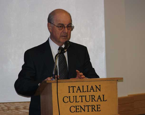 Pasqualino Bongiovanni introduced by Roy Piovesana