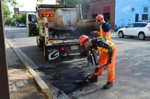 Pothole Repair Crew