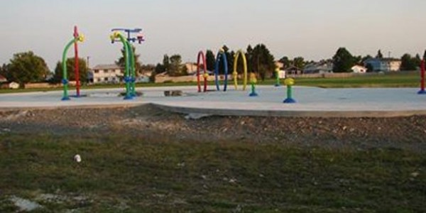 Splash Pad Country Park started in 2010 still not running in 2013