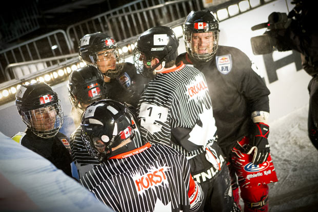 Red Bull Crushed Ice – Team Canada Crushing Competition