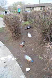 Trail of Empty Bottles