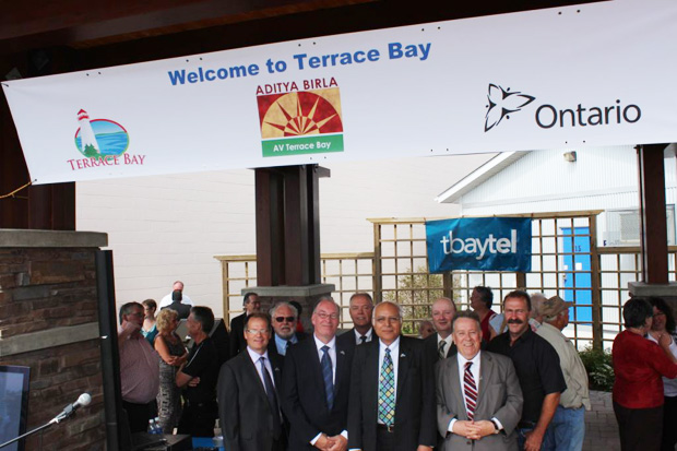 Terrace Bay Community Celebrates Purchase of Mill