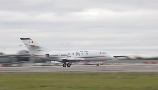 Falcon 20 Biofuel flight