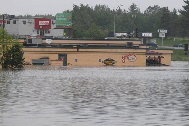Duluth Experiencing Widespread Damage from Floodwaters
