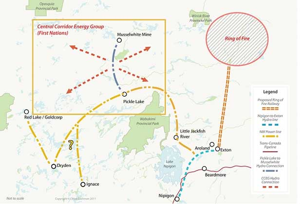 Greenstone is emerging as the gateway to the Ring of Fire
