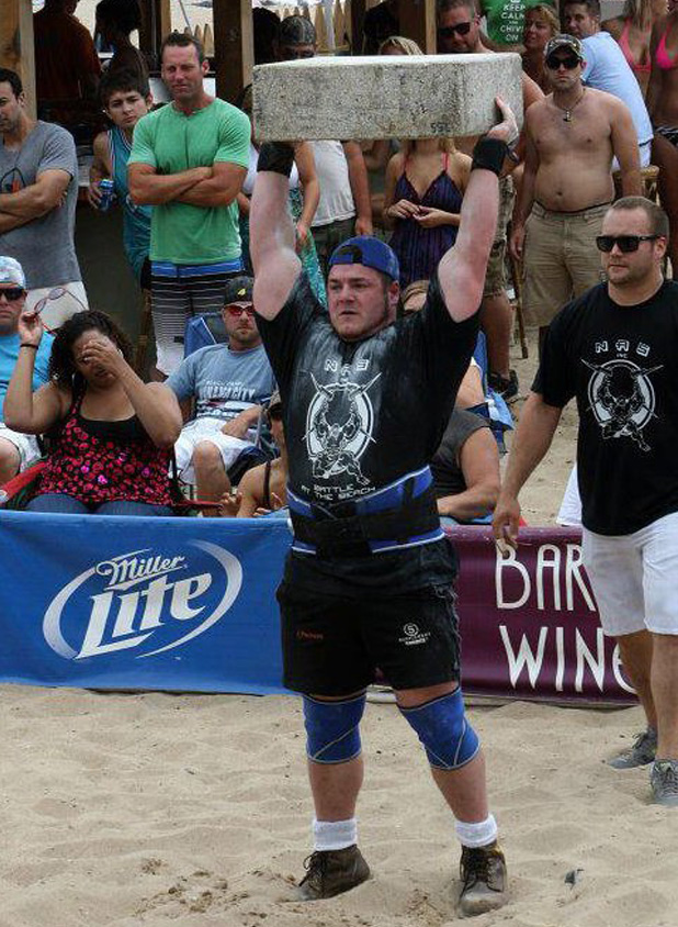 Luke Skaarup, can now call himself Ontario's Strongest Man!