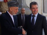 President of Afghanistan and NATO Secretary General Anders Fogh Rasmussen