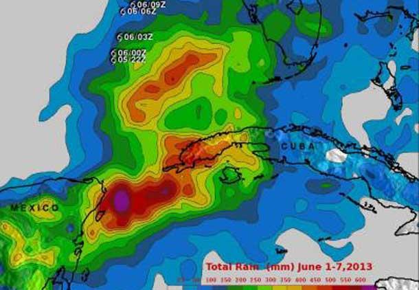 Cuba Rainfall