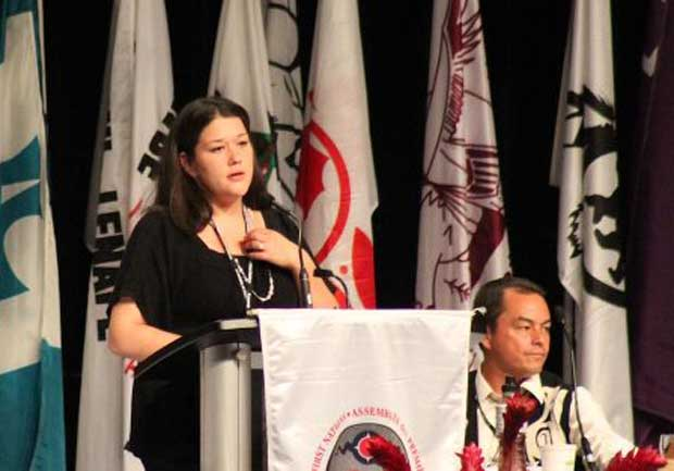 We are always glad to recognize First Nations youth – Grand Council Chief Patrick Madahbee
