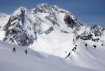 Snowboarding in Alaska