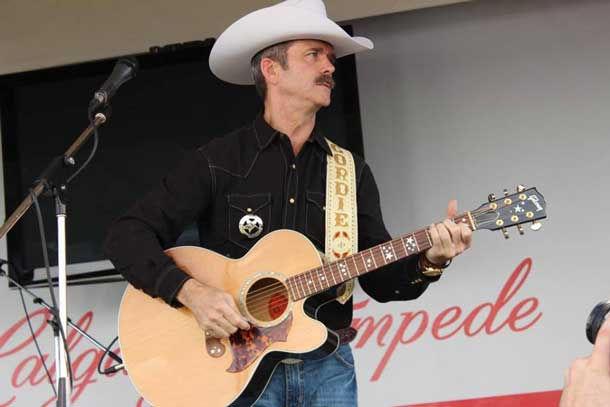 Calgary Stampede Marshall Chris Hadfield