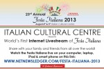 Get Ready For Festa Italiana 2013