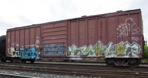 Thunder Bay Graffiti Train