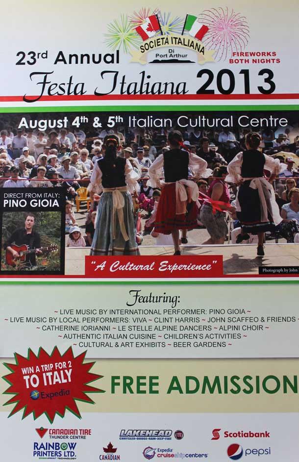 Italian Cultural Centre Festival