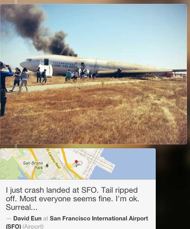Passenger Plane crashes